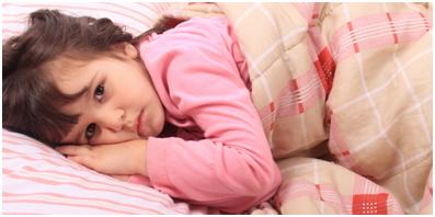 Hiperaktív alvászavaros gyermek