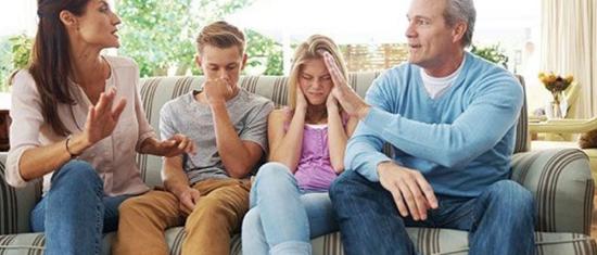 Konfliktus a családban