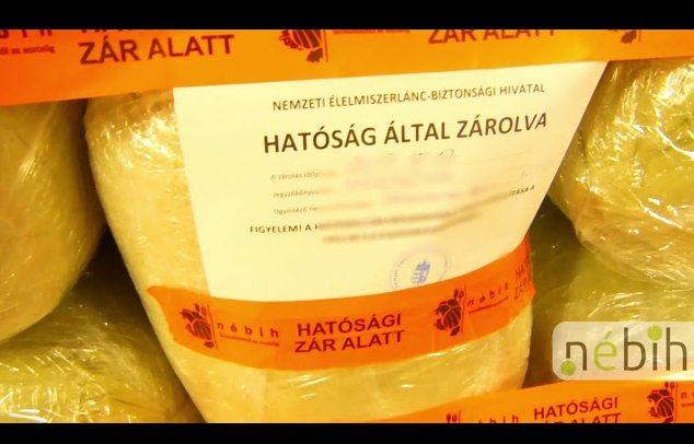 Illegális parlagfű termékek!